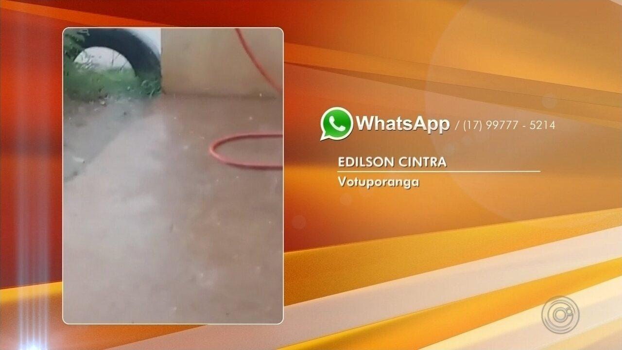 Alunos cancelam formatura por causa de temporal em Rio Preto