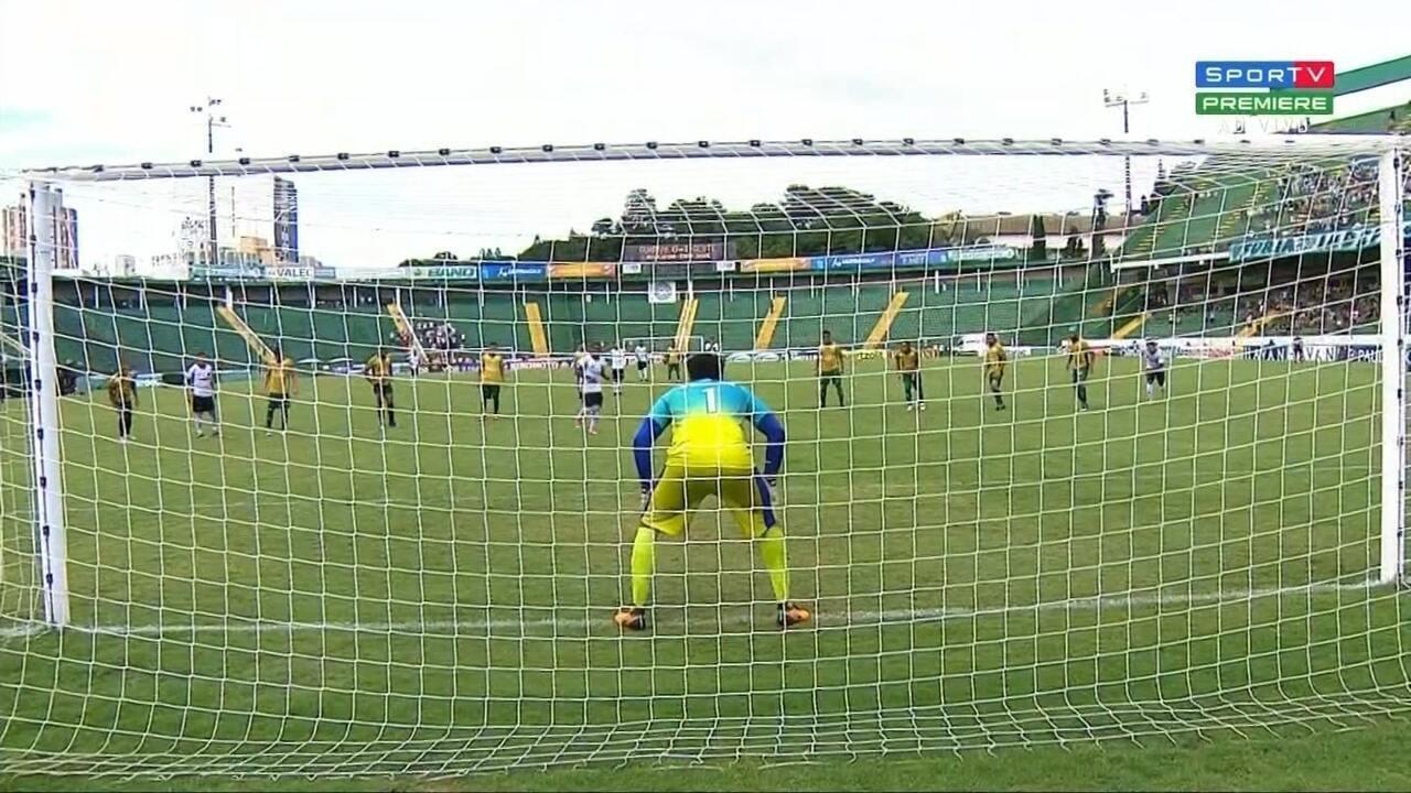 Melhores momentos: Guarani 1 x 2 Oeste, pela 3ª rodada do Campeonato Paulista