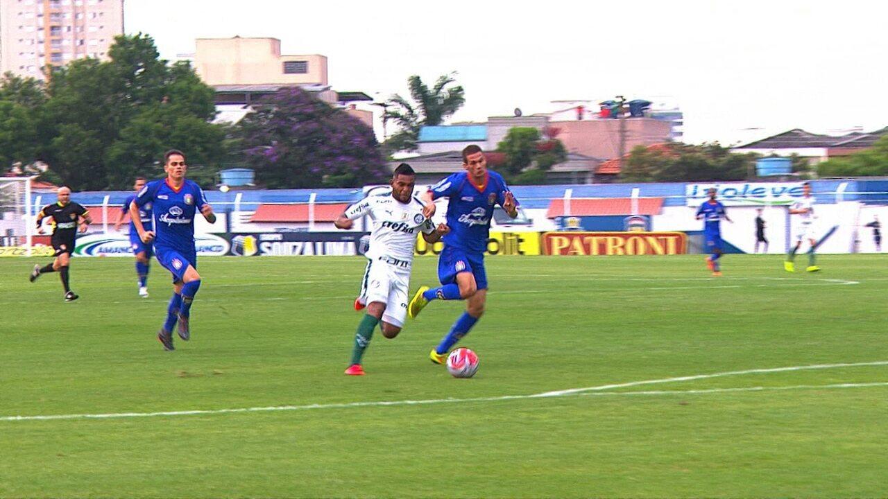 Os melhores momentos de Palmeiras 2 x 0 São Caetano pelo Campeonato Paulista
