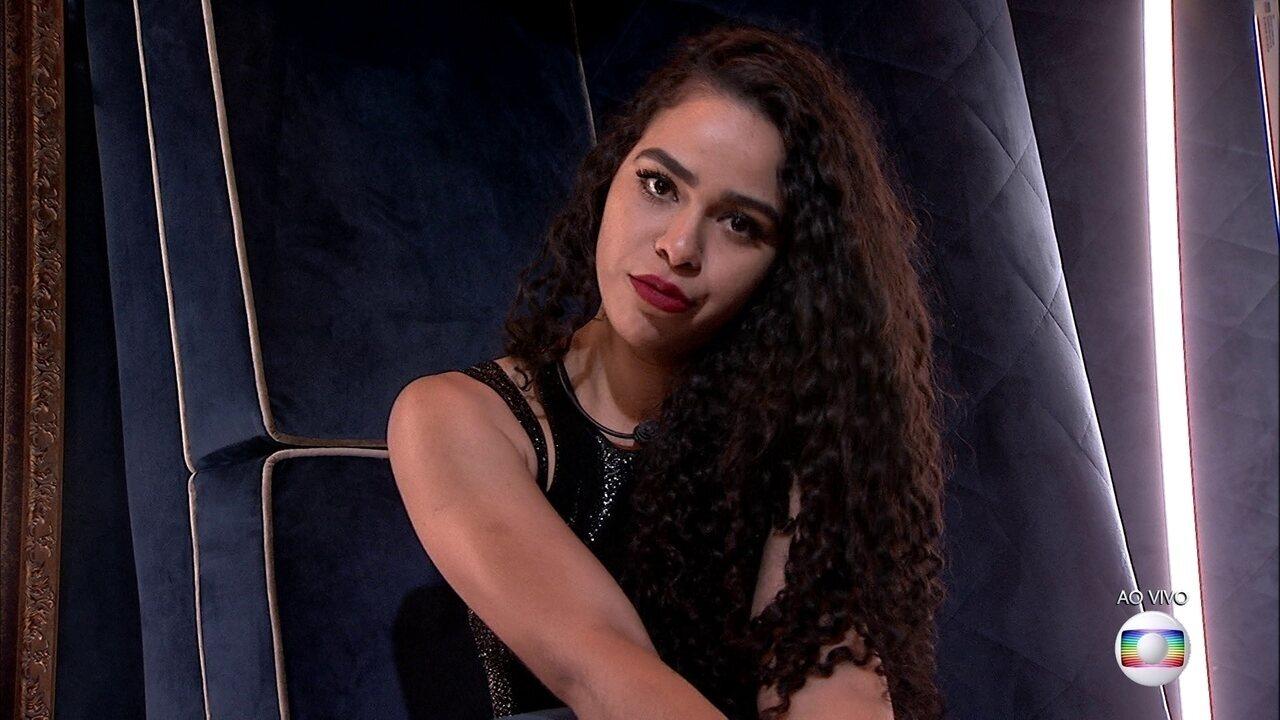 Segundo Paredão: Elana vota em Isabella