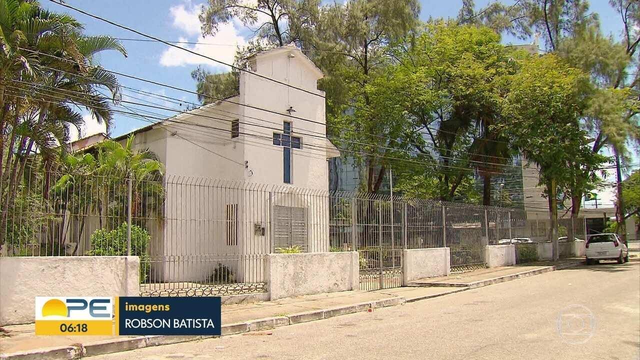 Bandidos roubam igreja e levam alimentos que seriam doados para moradores de rua no Recife