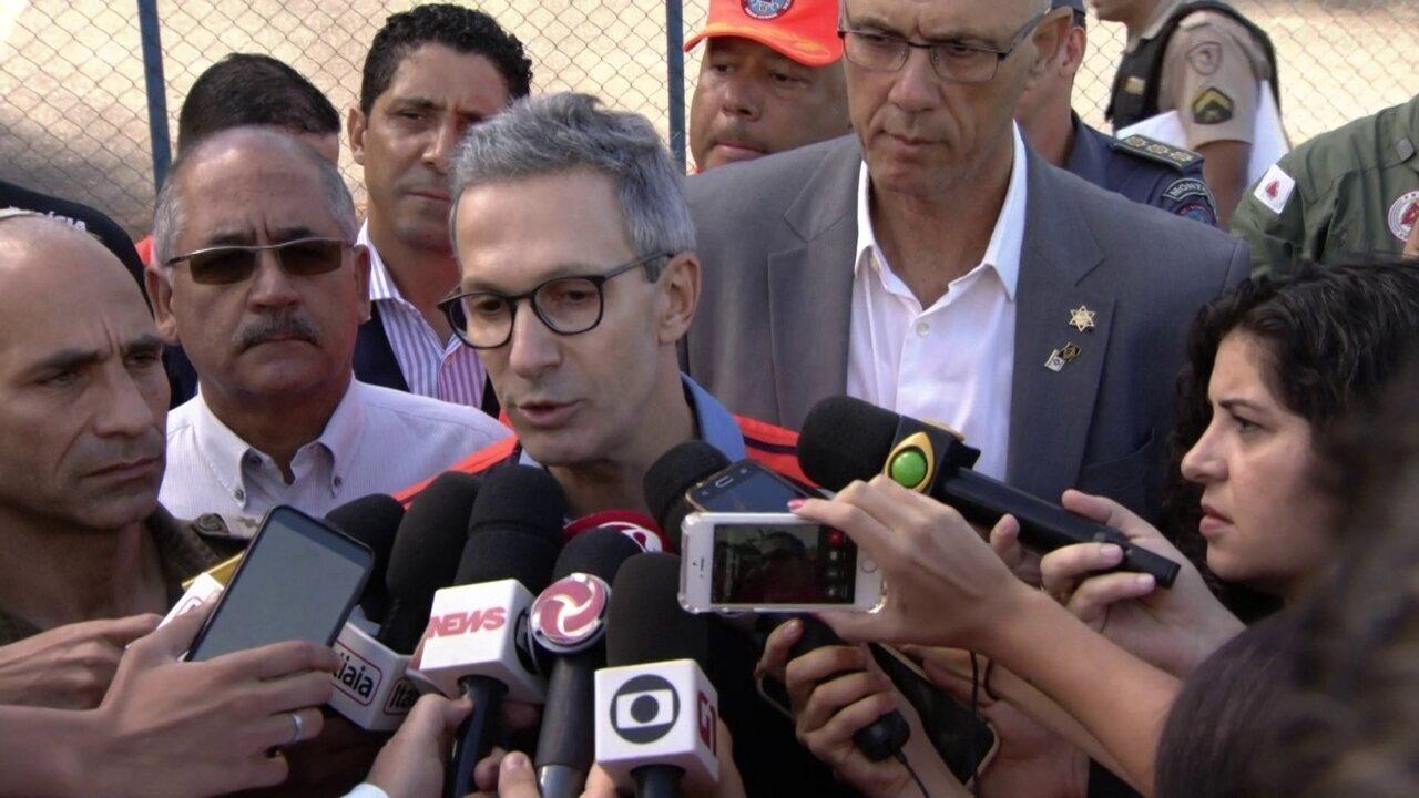 Romeu Zema diz que ex�rcito de Israel j� est� atuando na trag�dia de Brumadinho