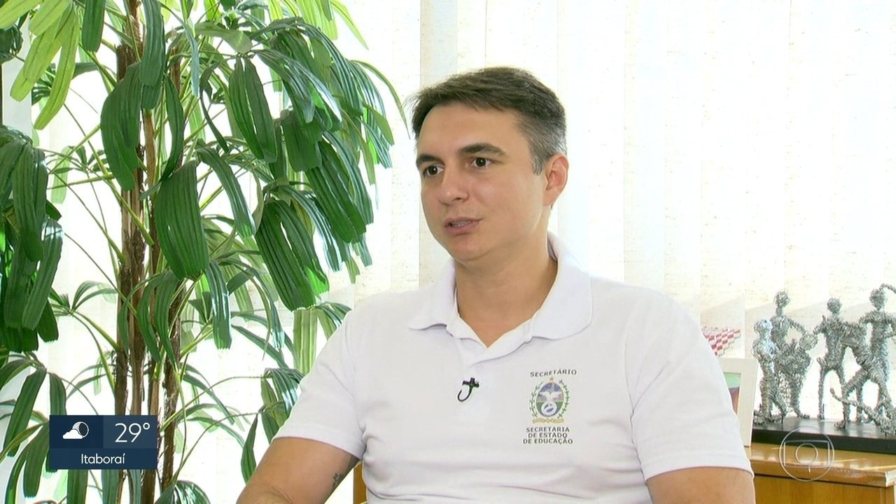 Secretário estadual de educação, Pedro Fernandes, conversou com a repórter Mônica Sanches