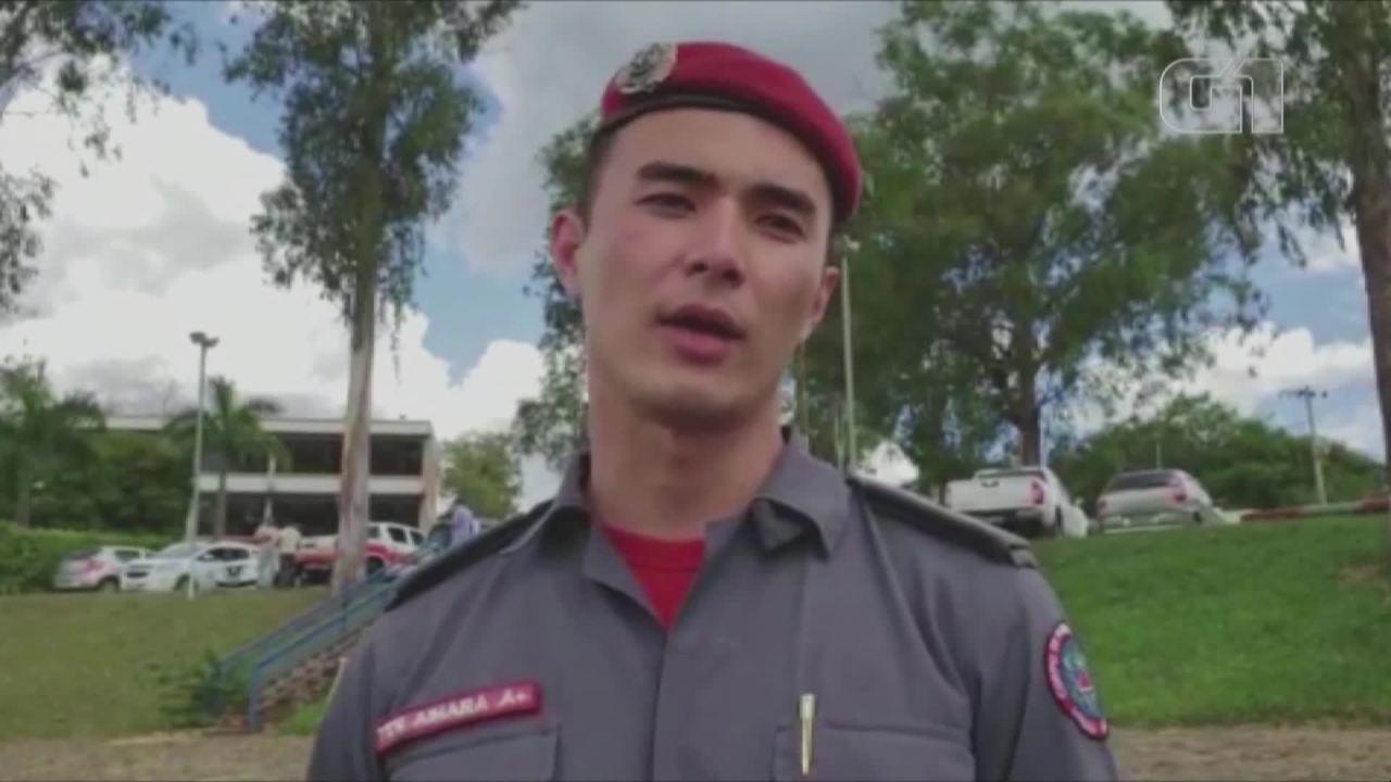 'O que eu faço é apenas transmitir o trabalho destes grandes heróis', diz tenente Aihara