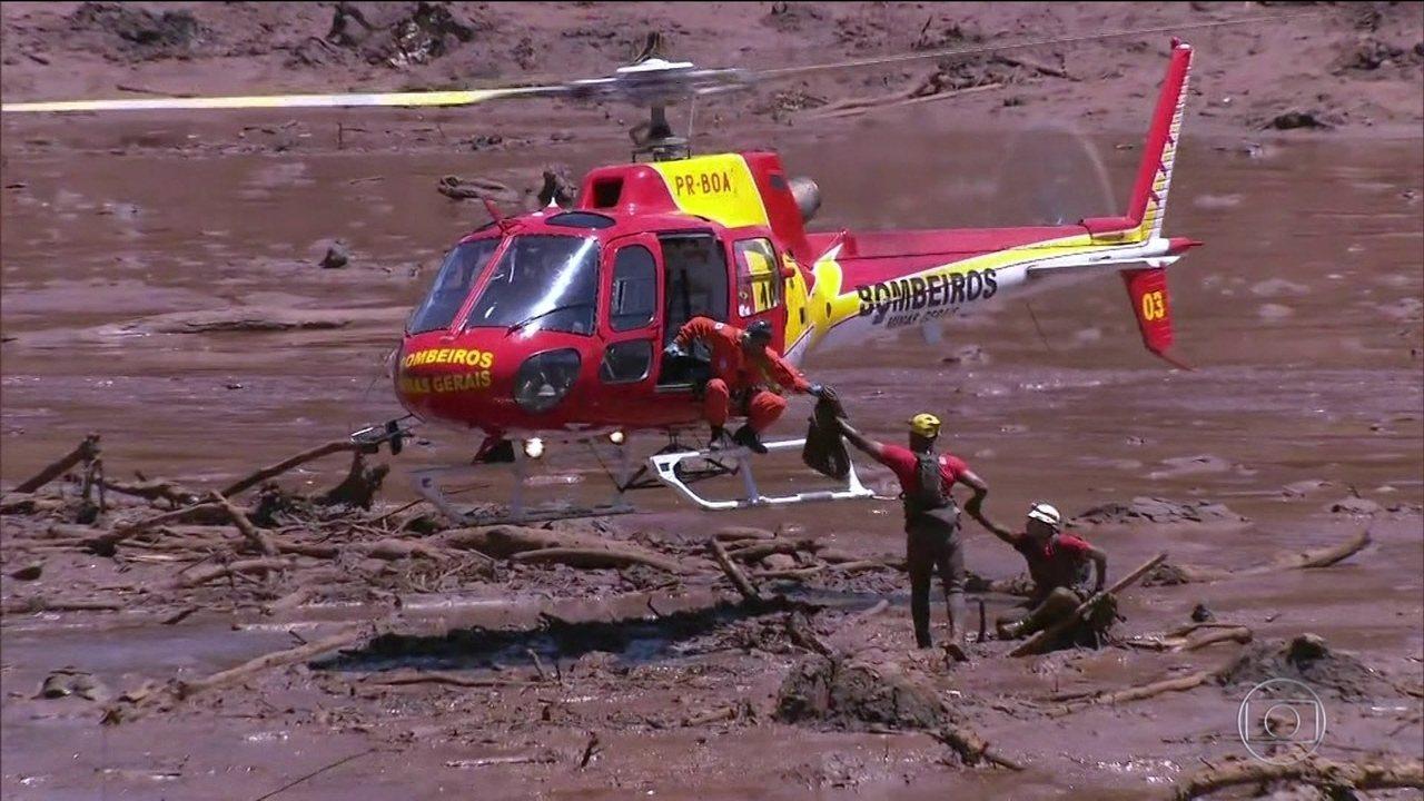 Sobe para 99 o número oficial de mortos da barragem de Brumadinho