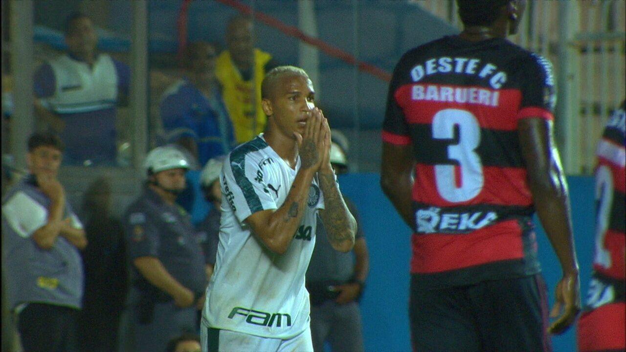 Melhores momentos de Oeste 0 x 1 Palmeiras pelo Campeonato Paulista