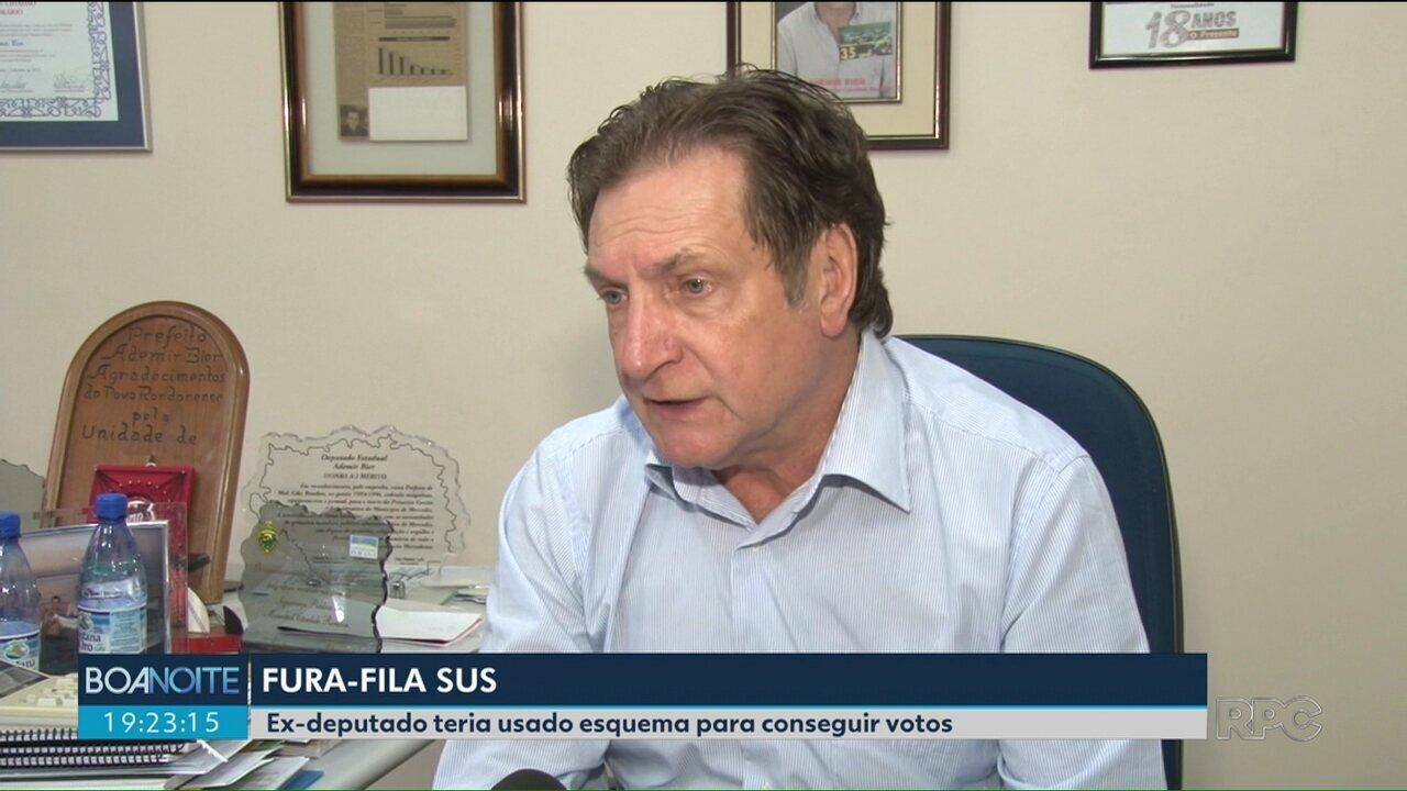 Ex-deputado é suspeito de usar fraude no SUS para conseguir votos na campanha eleitoral