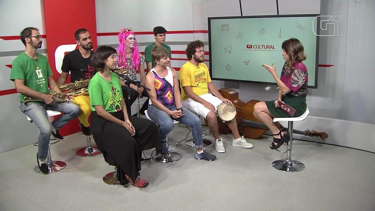 G1 entrevista os blocos Virgens da Asa Norte, Ska Niemeyer e Calango Careta, de Brasília