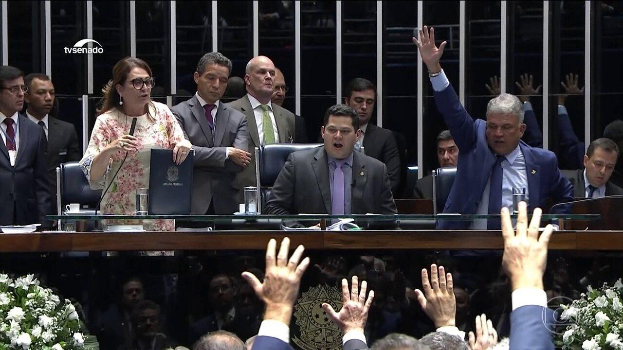 Senado adia sessão que vai definir o novo presidente da Casa