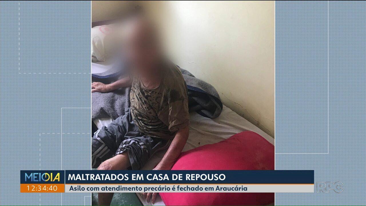 Resultado de imagem para Polícia prende três por maus-tratos em casa de repouso no Paraná; idosos estava desnutridos e com piolho