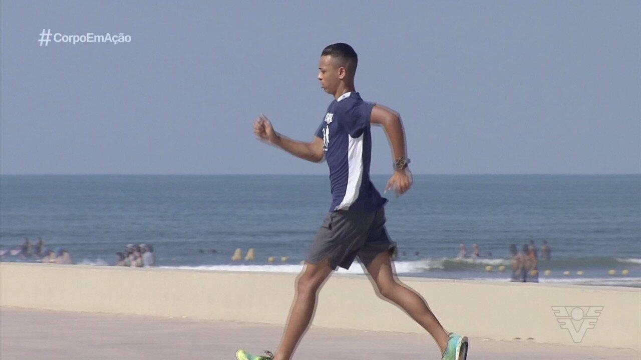 Conheça Kauan Domingues, revelação da marcha atlética nacional