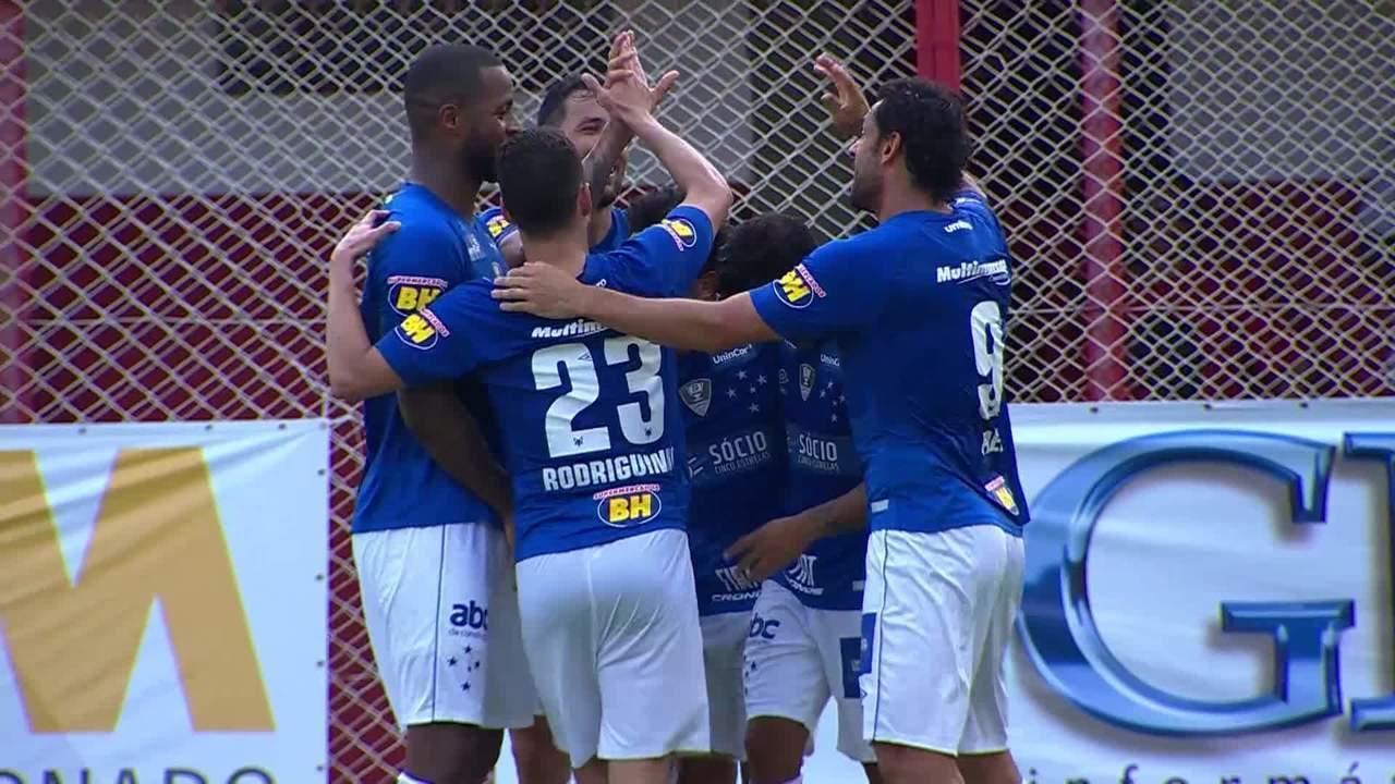 Confira os melhores momentos de Villa Nova 0 x 3 Cruzeiro