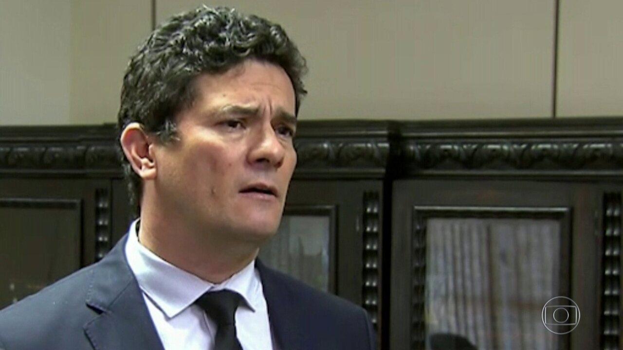Moro vai apresentar a governadores e autoridades projeto de lei anticrime