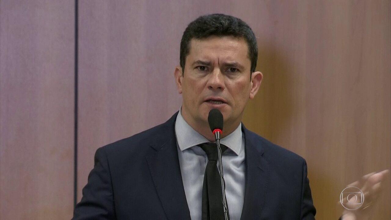 Sergio Moro detalha projeto de lei com medidas contra o crime
