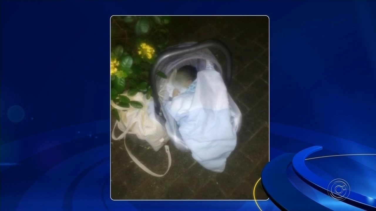 Bolsa com itens para bebê é encontrada com recém-nascido abandonado em Rio Preto