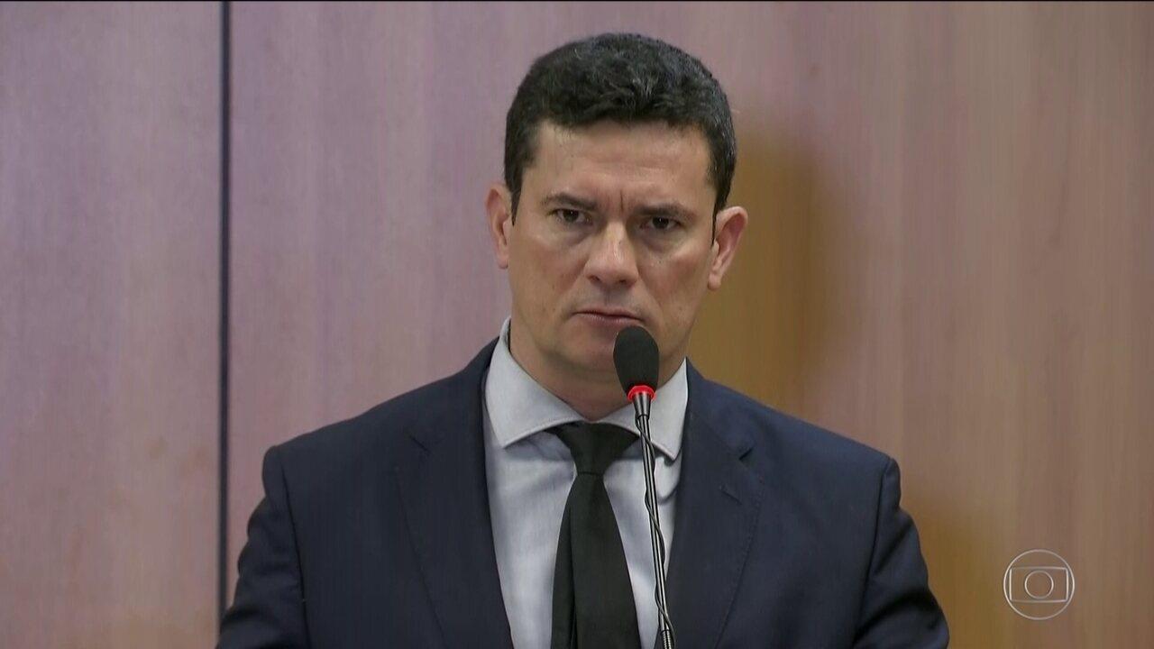 Moro lança projeto para combater corrupção, crimes violentos e crime organizado