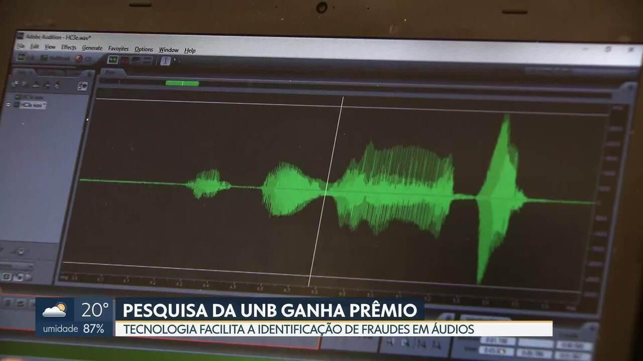 Pesquisa da UnB comprova integridade de áudios
