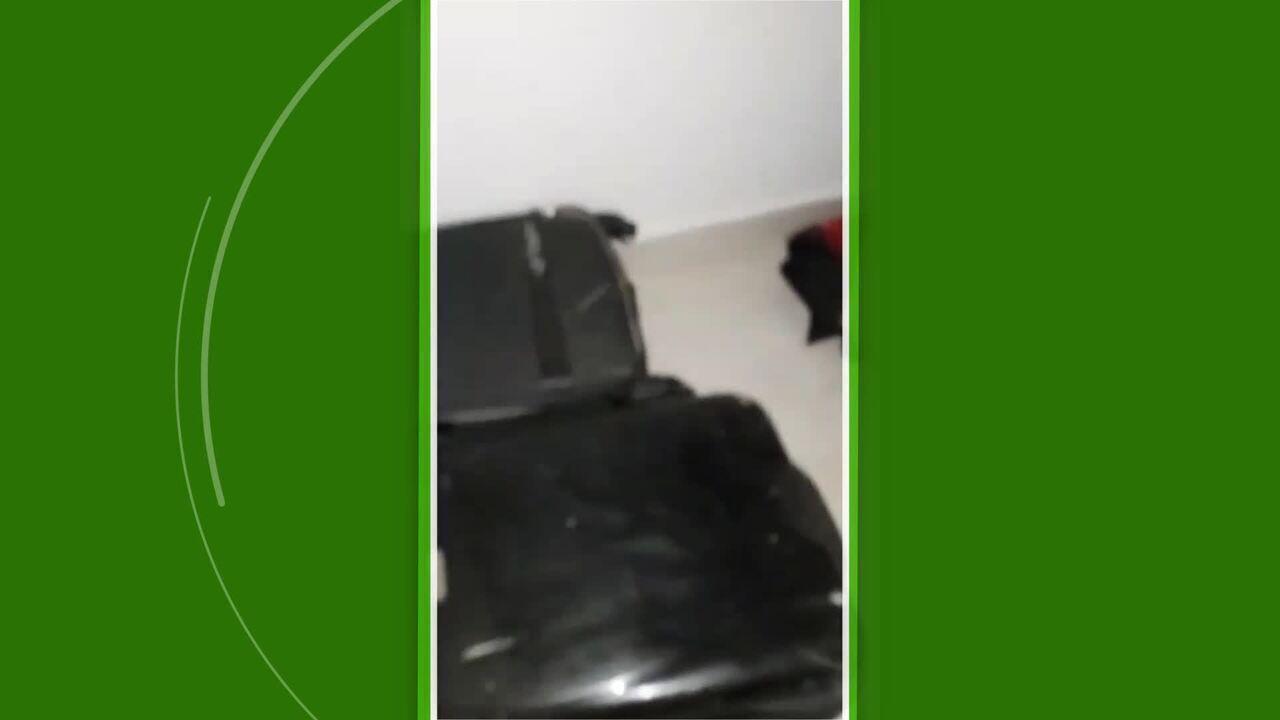 Léo Lima gravou os mosquitos no quarto do alojamento do Anapolina