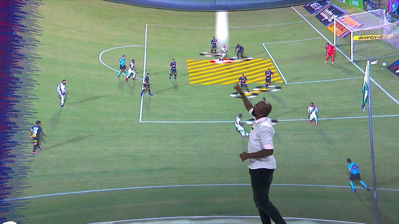 Grafite analisa gols de bola aérea sofridos pelo Corinthians: