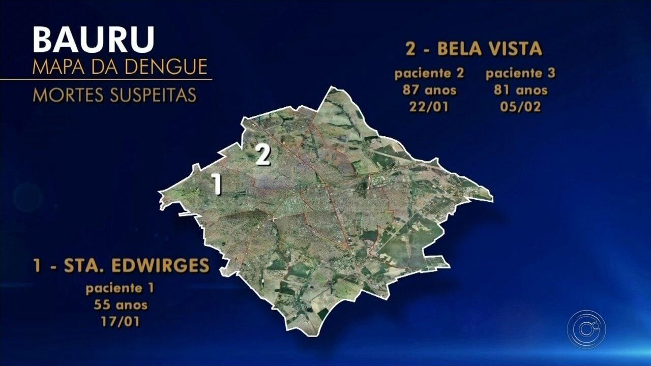 Com mais de 400 novos casos, Bauru chega a 1.547 pessoas com dengue