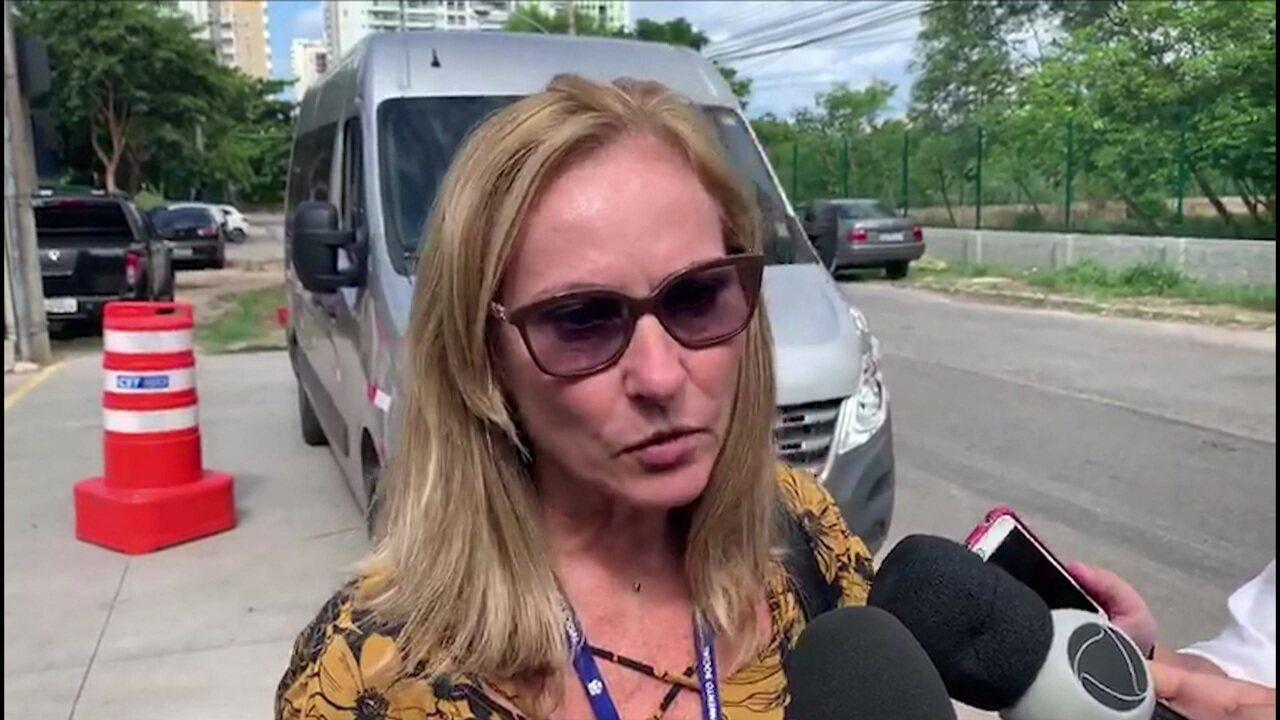 Conselheira o tutelar acompanha depoimento dos sobreviventes na tragédia no Ninho do Urubu