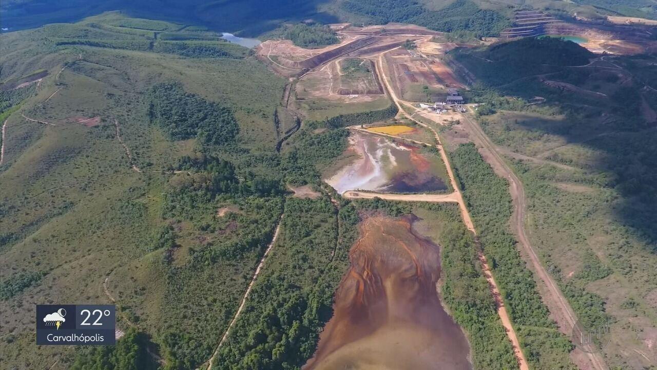 Ministério Público Federal recomenda plano emergencial para barragem de rejeitos em Caldas