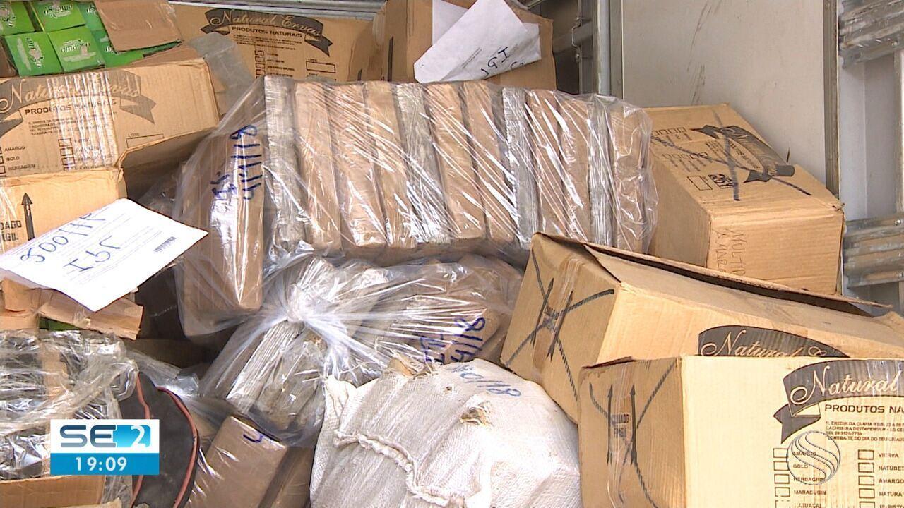 PF incinera drogas apreendidas em operações em Sergipe