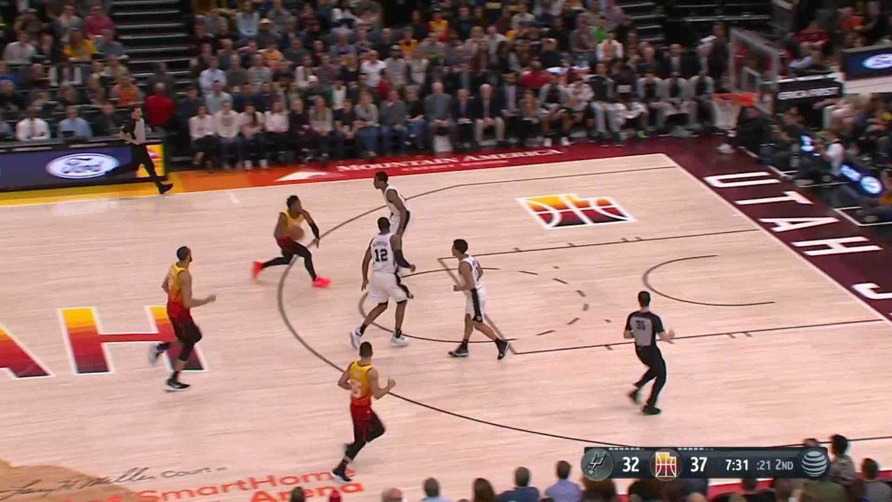 Melhores momentos: Utah Jazz 125 x 105 San Antonio Spurs