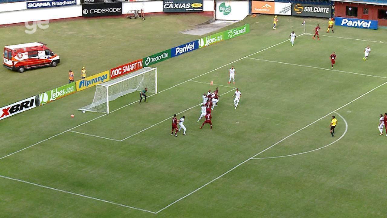 Confira o gol de Caxias 1x0 Veranópolis pela sexta rodada do Gauchão