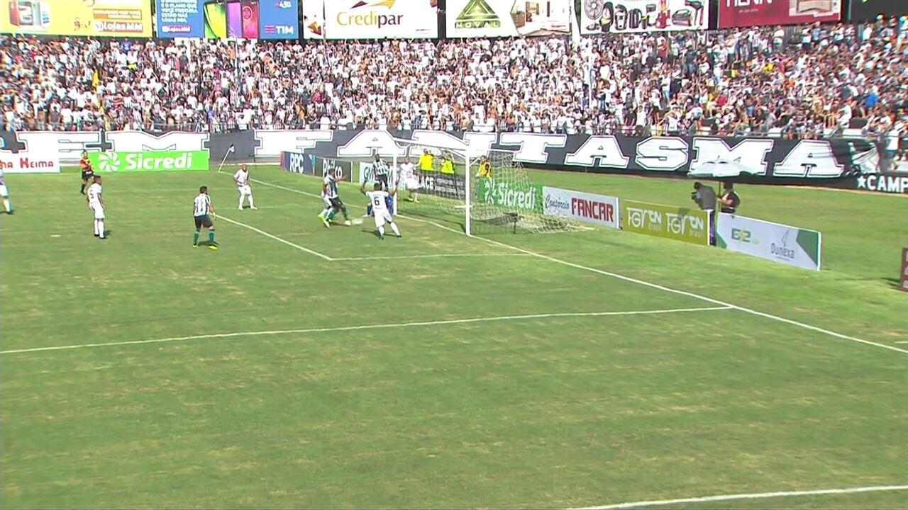Veja os gols de Operário-PR 2x2 Coritiba, pela última rodada da 1ª Taça do Paranaense