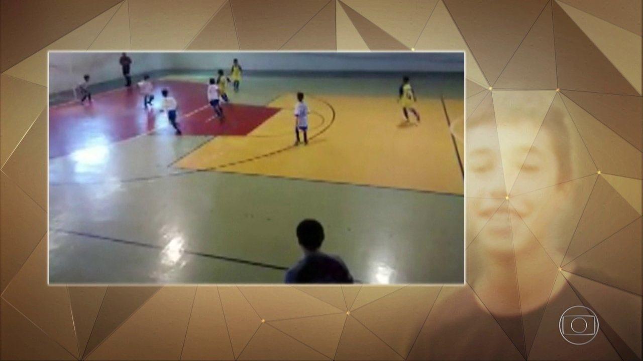 Fantástico homenageia meninos do Flamengo