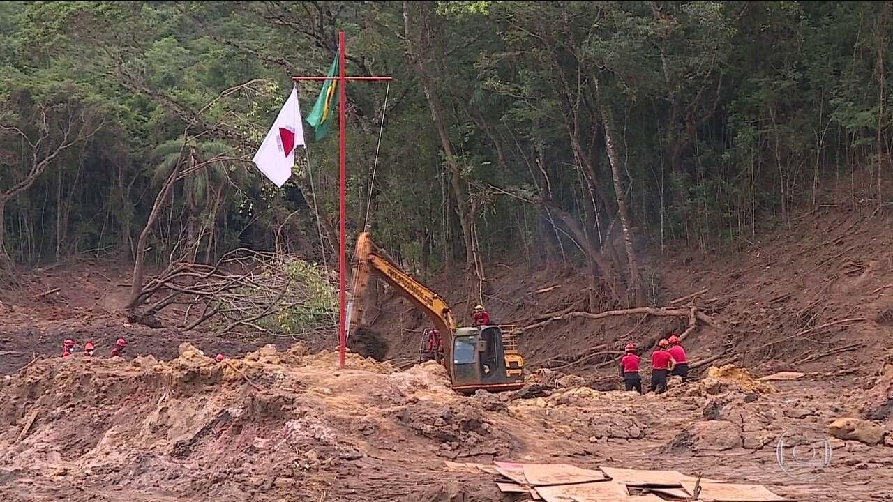 Busca por desaparecidos continua em Brumadinho