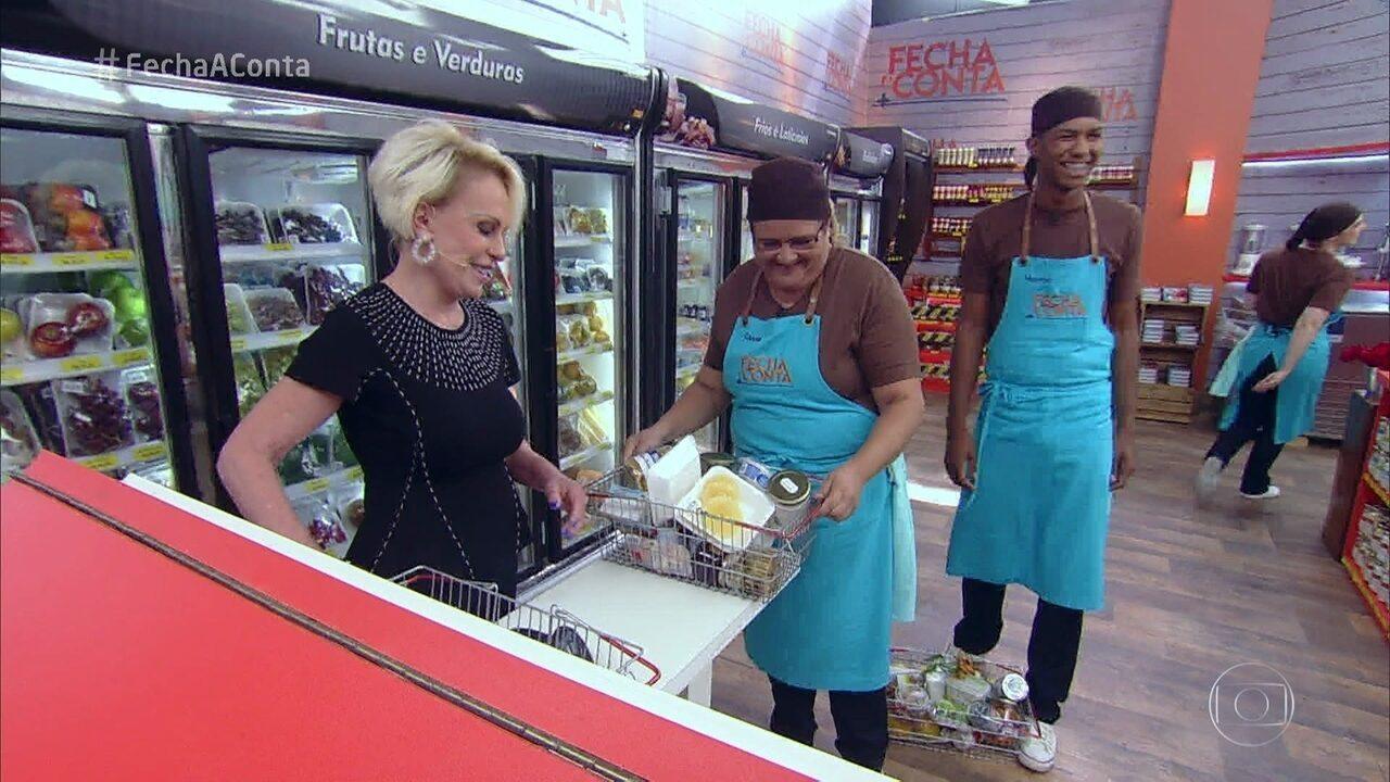 Confira como foram as compras para a semifinal do 'Fecha a Conta Bolo'