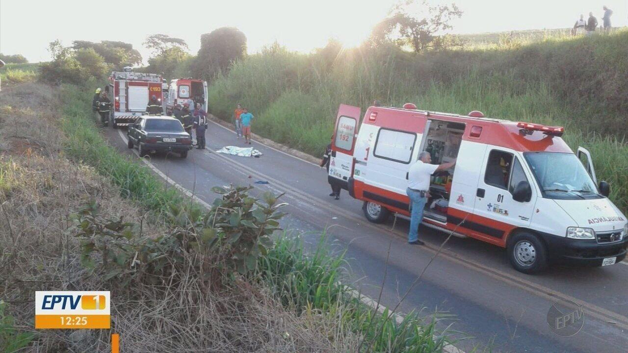 Motociclista e passageira morrem ao bater em caminhonete em rodovia de Boa Esperança (MG)