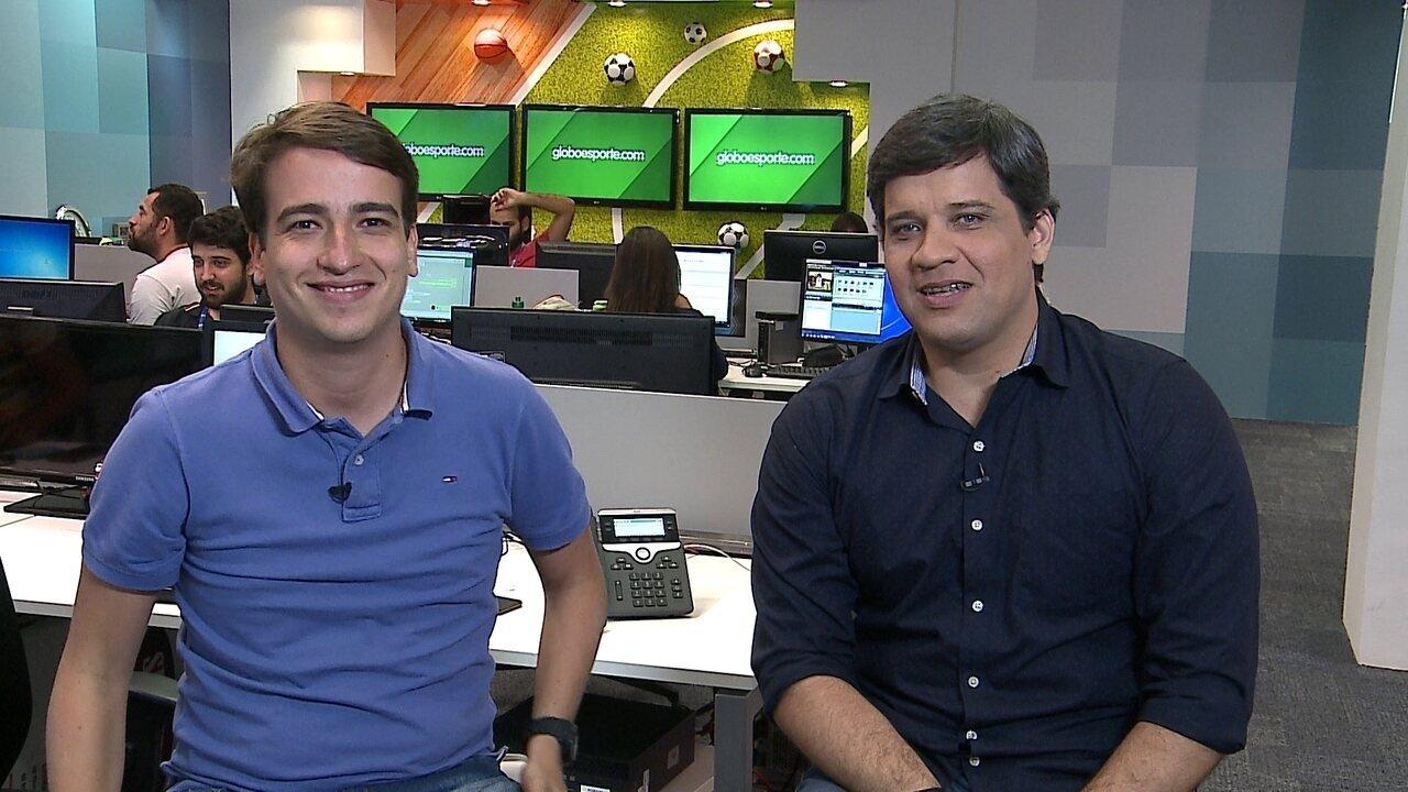 Cabral Neto comenta dúvida na zaga do Sport entre Rafael Thyere e Cleberson