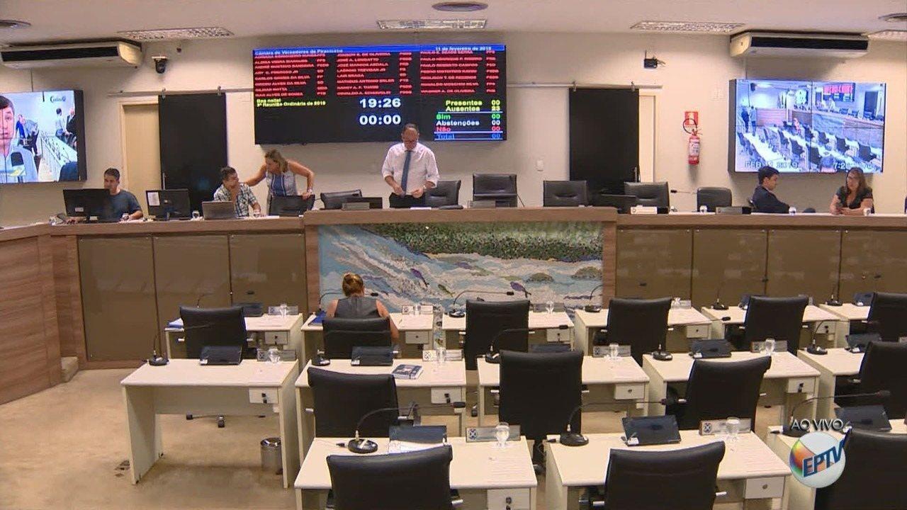 Vereadores votam abertura de CPI para investigar problemas no abastecimento em Piracicaba