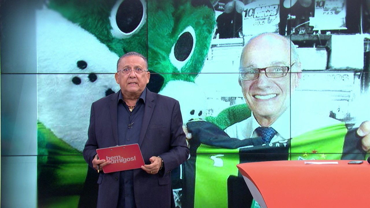 Galvão Bueno fala sobre a morte de Ricardo Boechat e relembra cobertura da Copa de 1998: