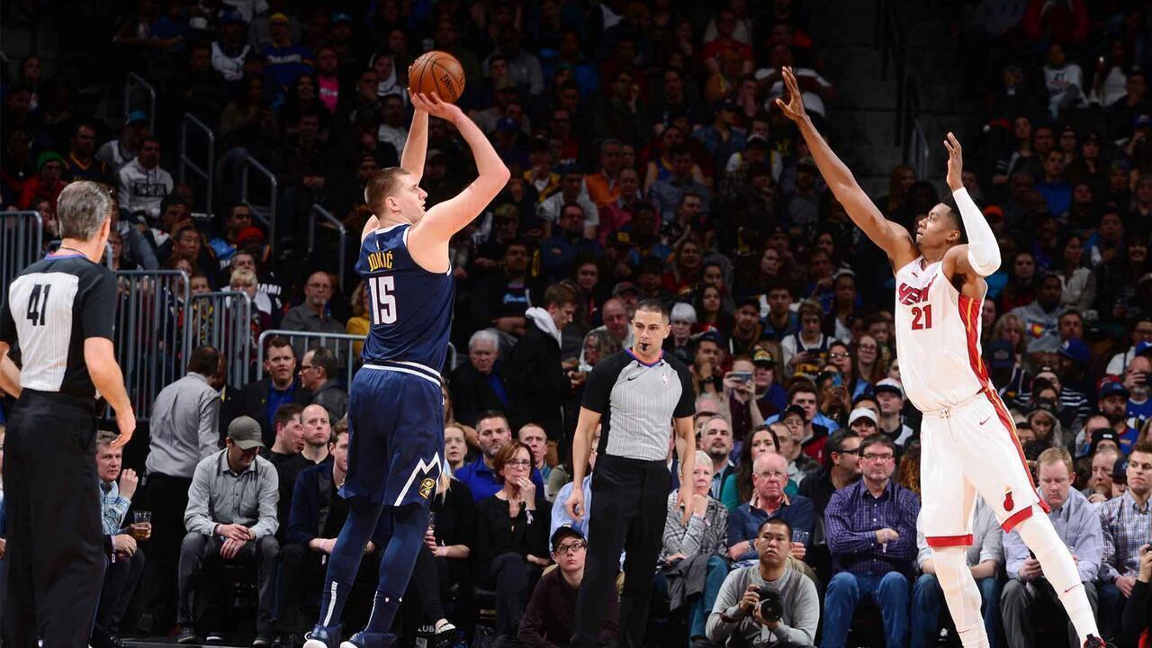 Melhores momentos: Denver Nuggets 103 x 87 Miami Heat, pela NBA