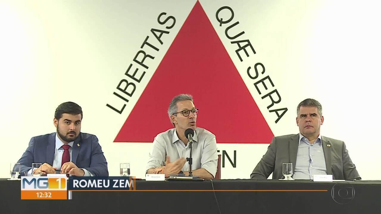 Zema se reúne pela primeira vez com deputados federais e defende mais autonomia do estado