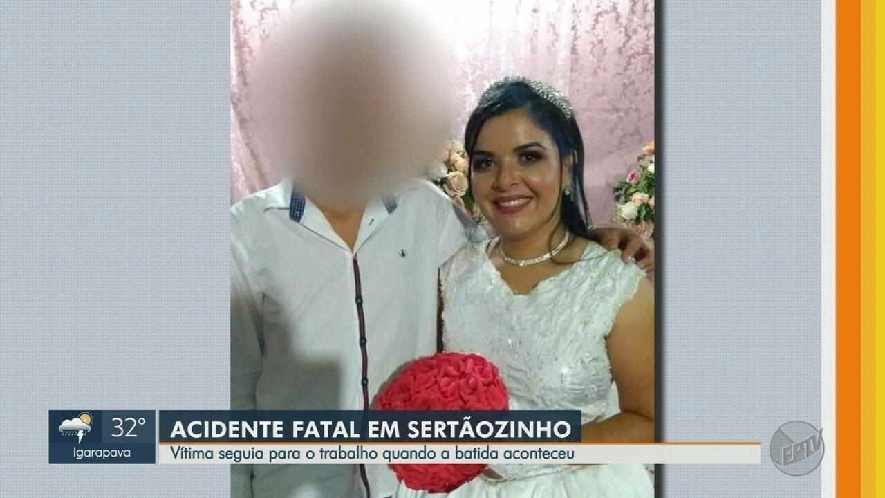 Colisão entre duas motos mata mulher em Sertãozinho, SP