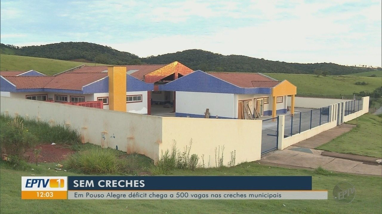 Sem inauguração de nova creche, prefeitura tem déficit de 500 vagas em Pouso Alegre (MG)