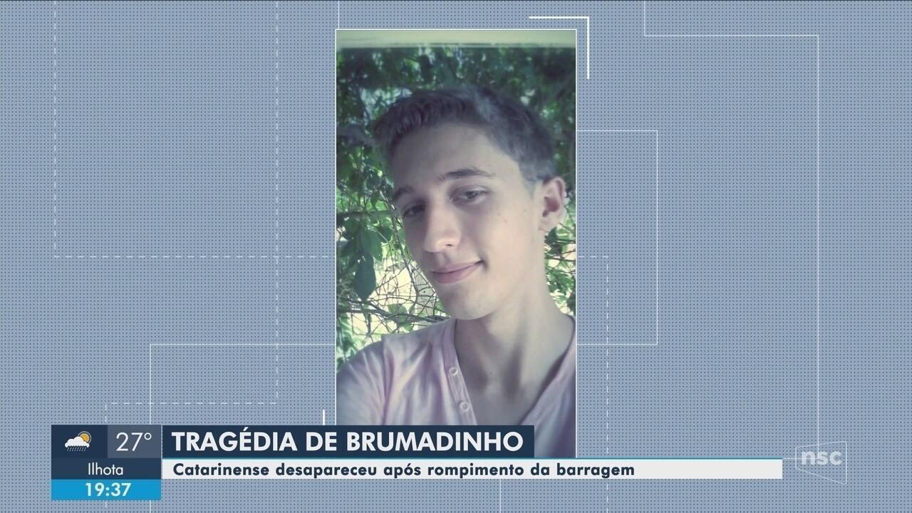 Catarinense pode estar entre as vítimas da tragédia de Brumadinho; família relata drama