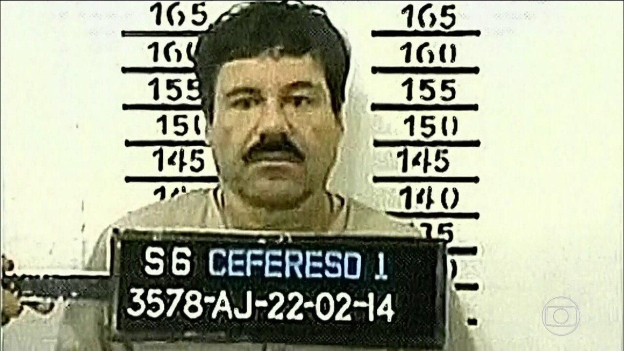 Traficante El Chapo é condenado à prisão perpétua de tribunal de NY
