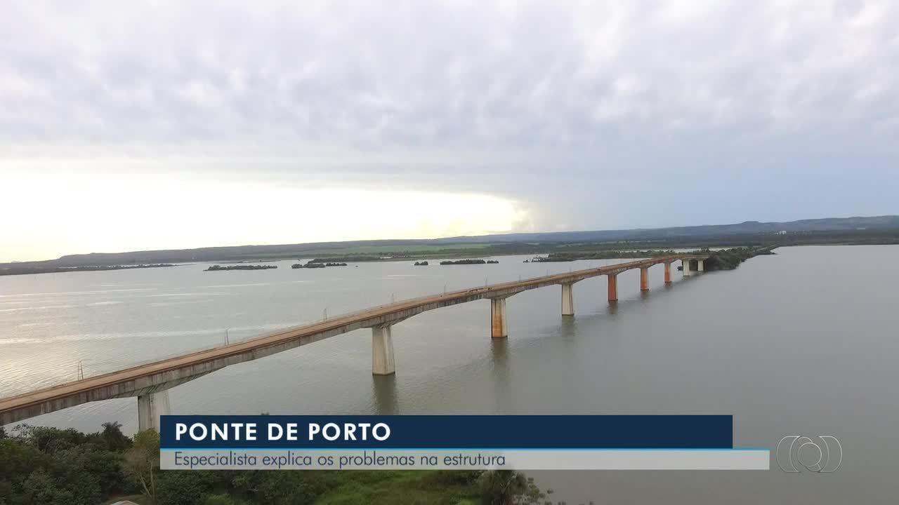 Especialista fala sobre problemas que levaram a interdição da ponte em Porto Nacional