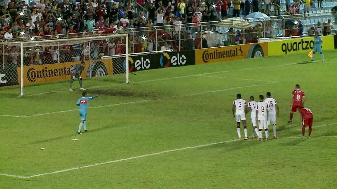 Os gols de Imperatriz 1 x 1 Náutico pela Copa do Brasil