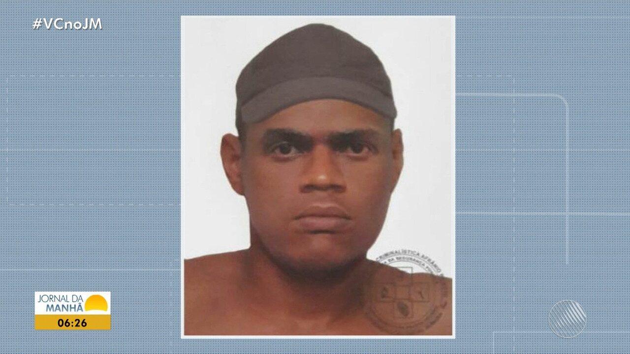 Polícia divulga retrato falado de suspeito de atirar e matar professora na Vila Canária