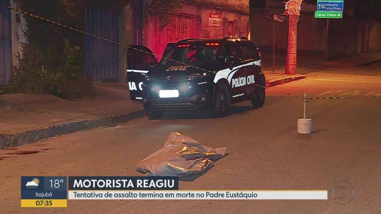 Dupla é suspeita de tentar roubar motorista e é baleada em Belo Horizonte   um morreu f4b2ce38d6