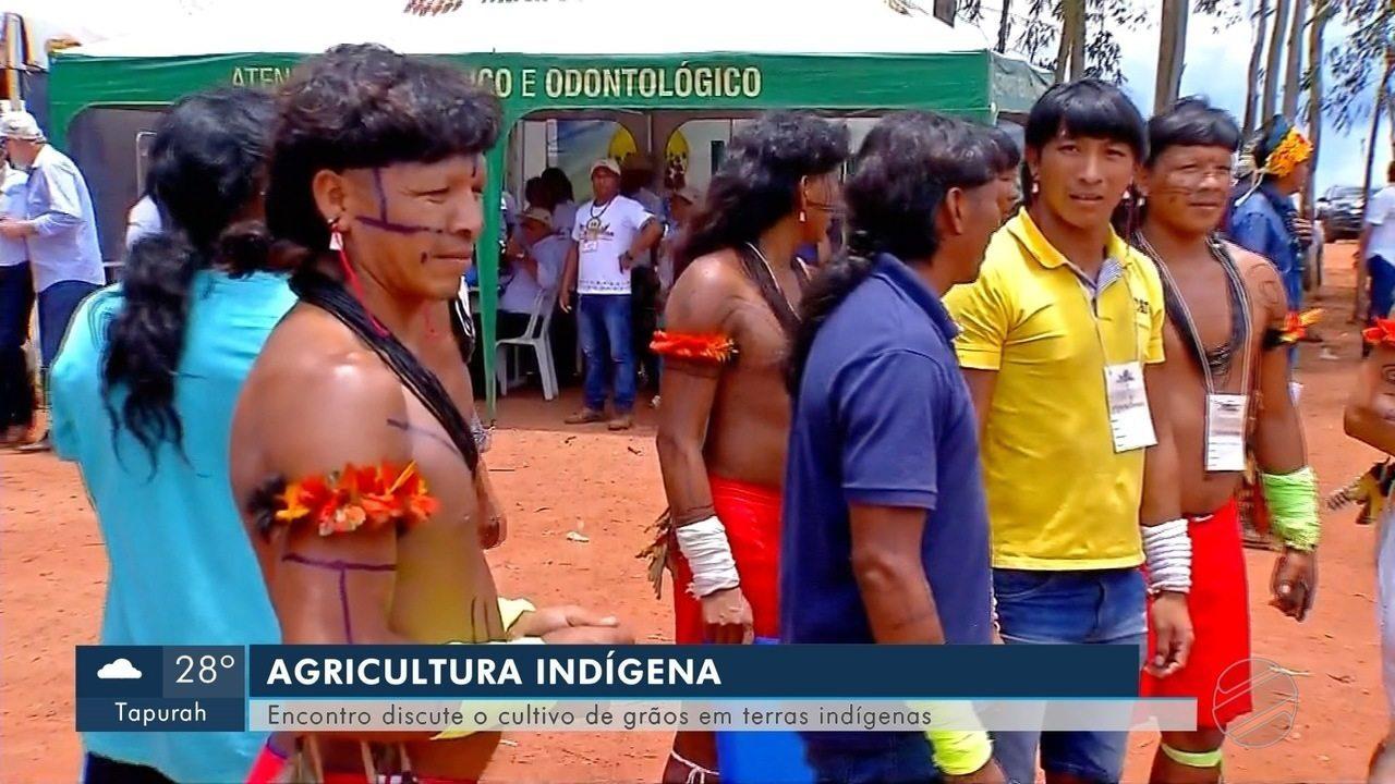 Ministros e governador participam de encontro de agricultores indígenas em Campo Novo do Parecis