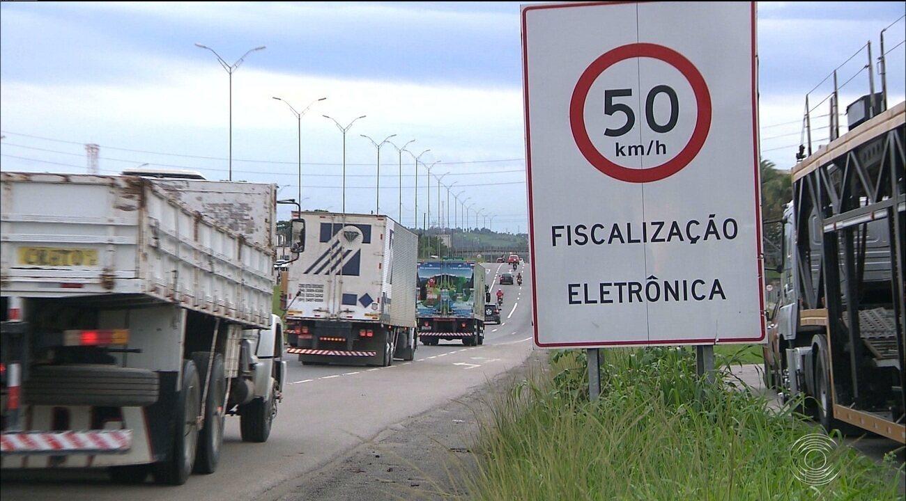 Número de lombadas eletrônicas nas rodovias federais do Estado irá de 70 para mais de 180
