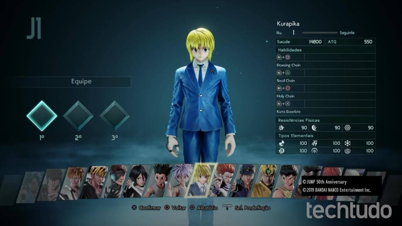 Jump Force: all characters in the game are confirmed